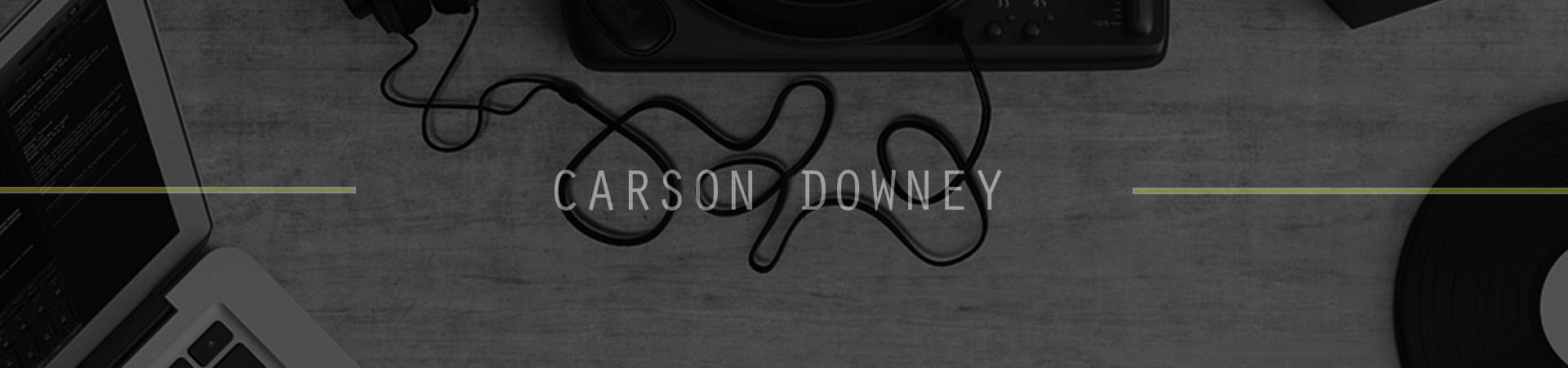 CARSON DOWNEY